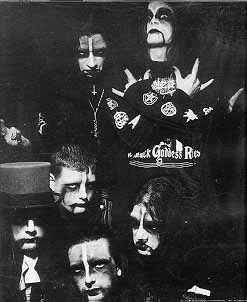CRADLE OF FILTH early