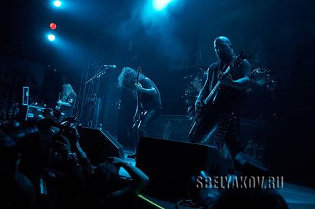 обзоры концертов Slayer