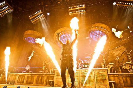 обзоры концертов Rammstein Combichrist