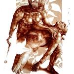 искусство Vincent Castiglia Triptykon