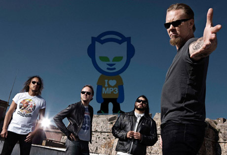 metallica vs. napster