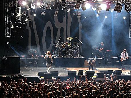 обзоры концертов Korn Flymore