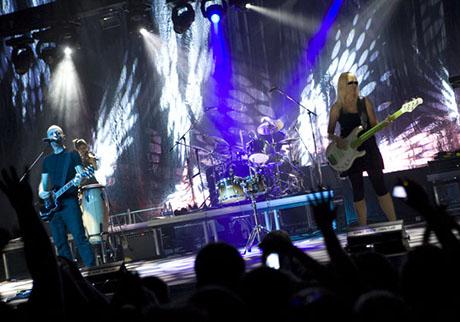 обзоры концертов Moby
