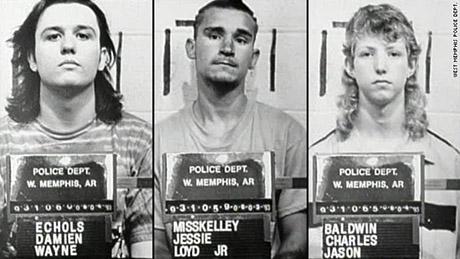 криминал West Memphis Three
