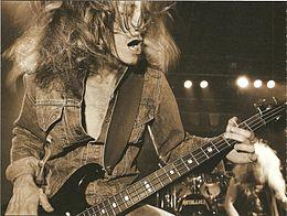 R.I.P. Metallica Cliff Burton
