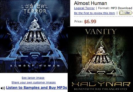 обложки альбомов Xalynar Logical Terror