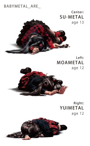 клипы брутальные дети Babymetal
