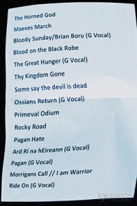 обзоры концертов Крода Cruachan