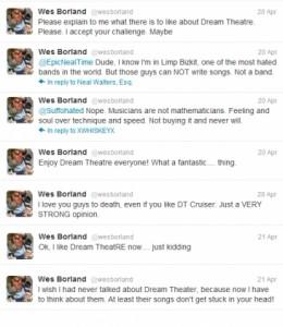 Wes Borland Limp Bizkit Dream Theater