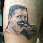 tattoo Freddie Mercury