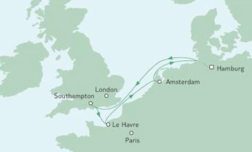 Full Metal Cruise map