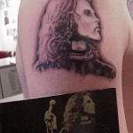 tattoo Jim Morrison
