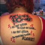 tattoo My Chemical Romance