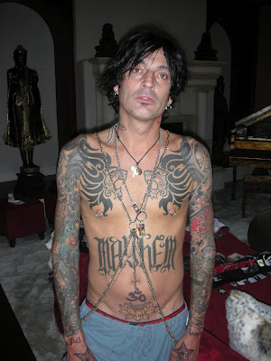 Tommy Lee Rocker Tattoo 9