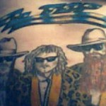 ZZ Top tattoo