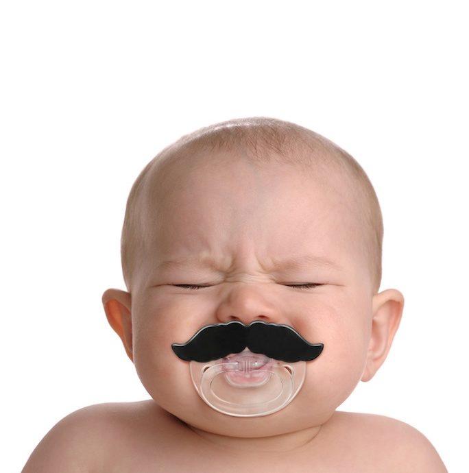 mustache pacifier 4