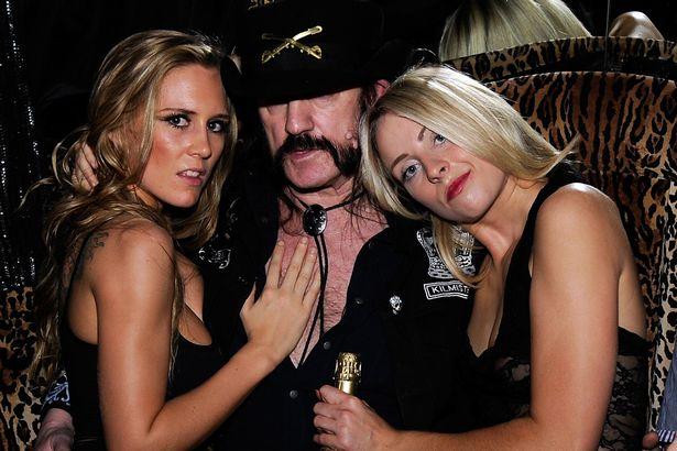 Lemmy of Motorhead women