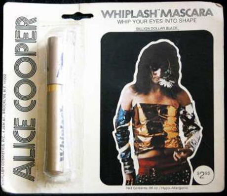 реклама раритеты мерч Alice Cooper