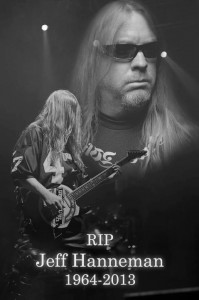 Slayer R.I.P. Jeff Hanneman