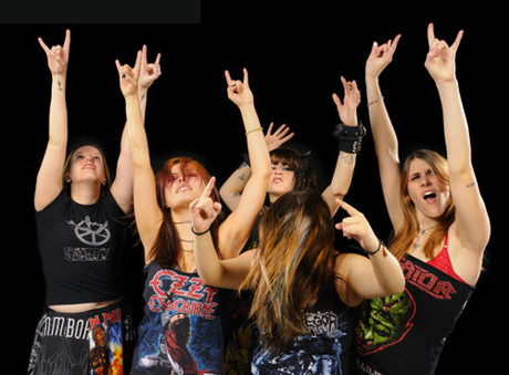 metal girls