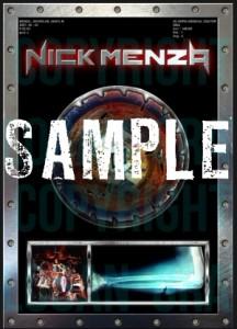 раритеты Nick Menza Megadeth