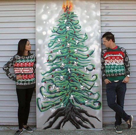 Metallica Christmas Sweaters