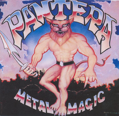 pantera metal magic