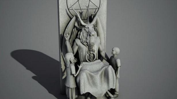 Baphomet Statue Oklahoma