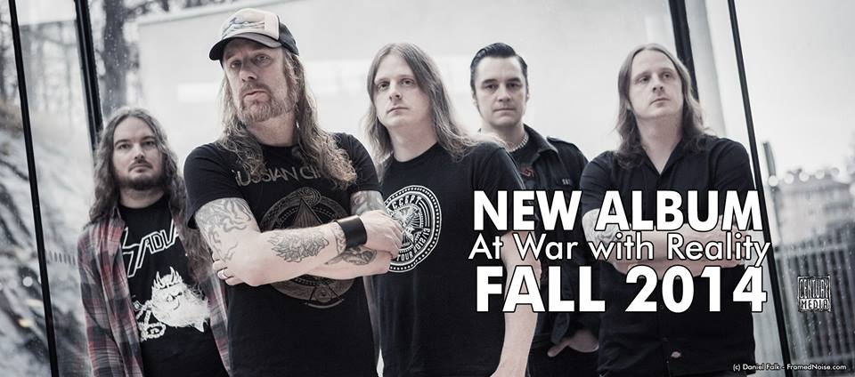at the gates 2014 album at war with reality