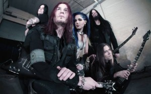 The Agonist Arch Enemy Angela Gossow Alissa White Gluz