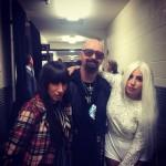 "Роб с ""ледями"": Lady Gaga и диджей Lady Starlight"