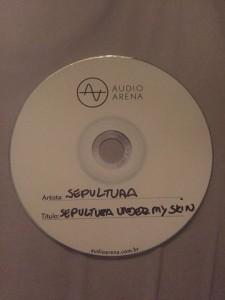 рок татуировки Sepultura