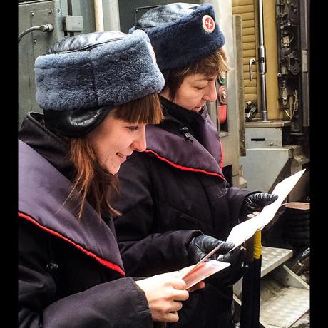 Meet the women of the Trans Siberian Express