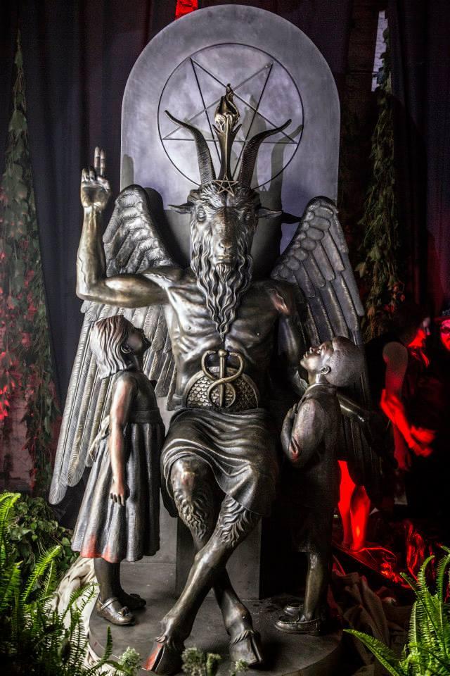 satanic statue detroit