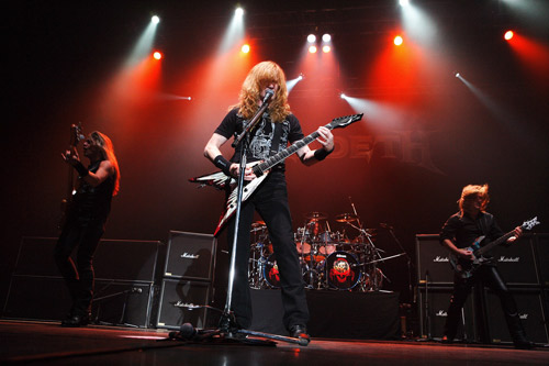 Megadeth live 2015