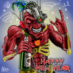 heavy metal rock new year