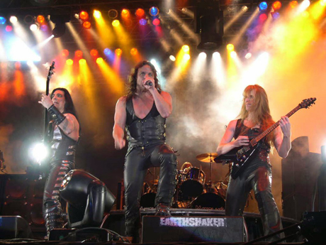 The concert of the legendary kings of metal, Manowar, on the opening night of Kaliakra Rock Festival 2008