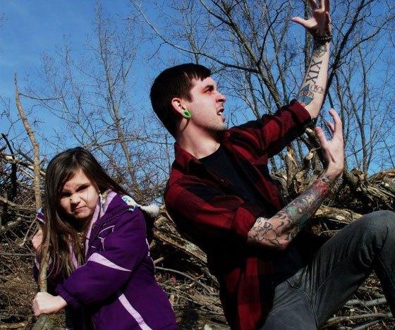 father daughter grindcore Sockweb