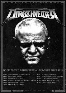 Dirkschneider - Back To The Roots Russia & Belarus tour 2016