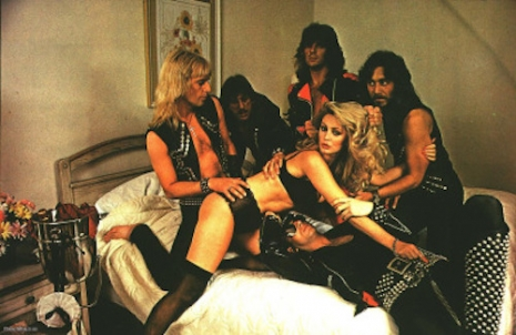 JUDAS PRIEST PENTHOUSE PET group