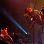 In Black we trust: аншлаговый концерт MASSENHINRICHTUNG, PIAREVARACIEN, RAVEN THRONE в «Брюгге»