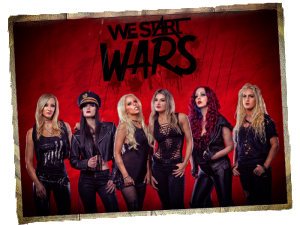 метал тетки We Start Wars Nita Strauss all female bands Alice Cooper