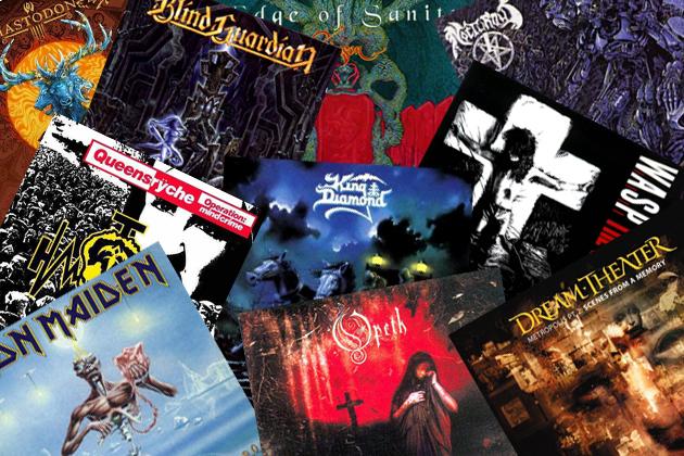 10 Best Metal Concept Albums