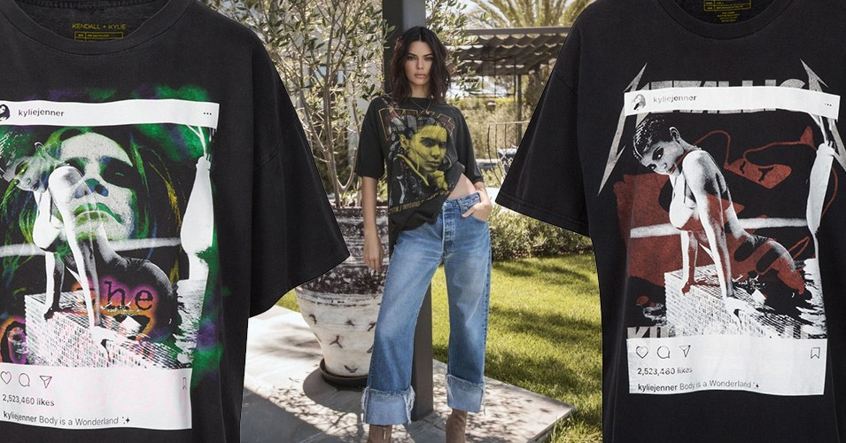 kylie kendall jenner rock shirts