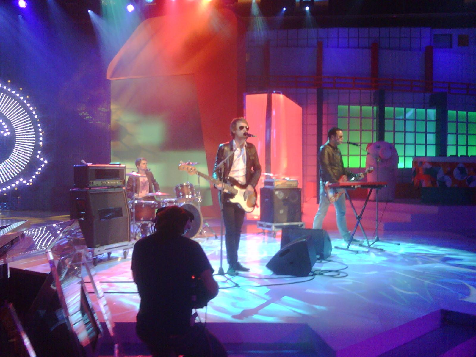 Muse playback on Italian TV