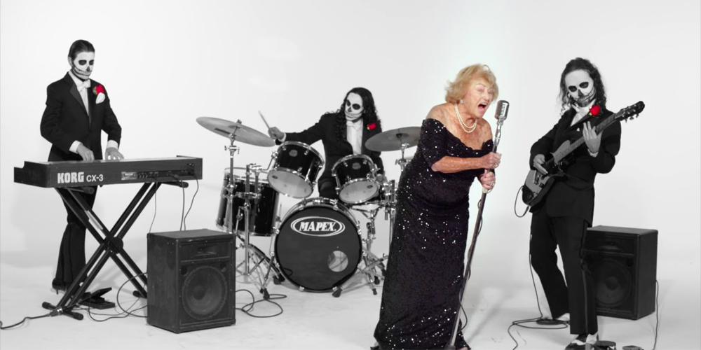 Inge Ginsberg Music VideoDeath Metal Grandma