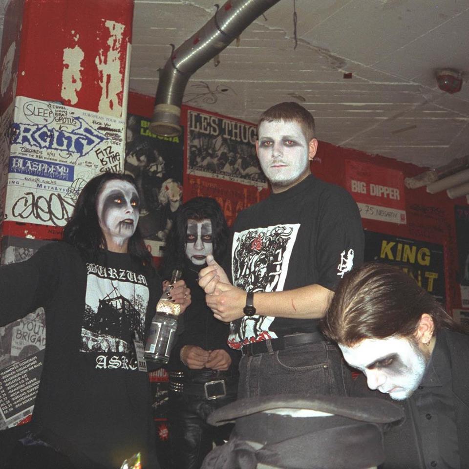 Cradle Of Filth backstage94