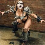 метал тетки Slymenstra Hymen Gwar Danielle Stampe