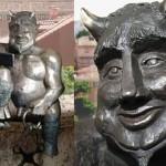 Дружище Сатана. Статую селфи-диавола поставят в испанской Сеговии