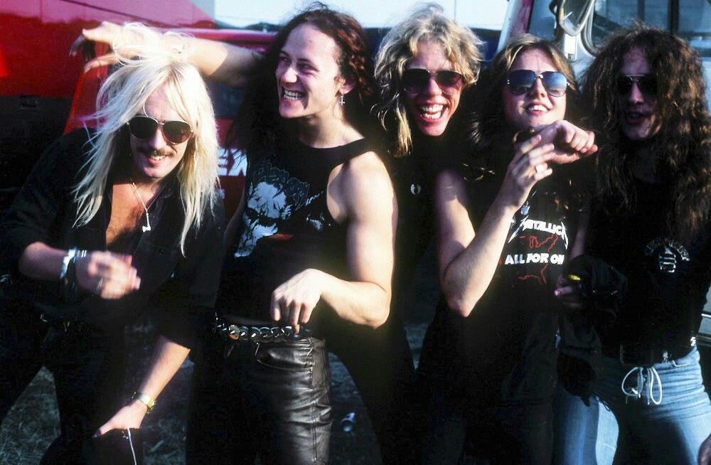 venom metallica Tour 1984 1986